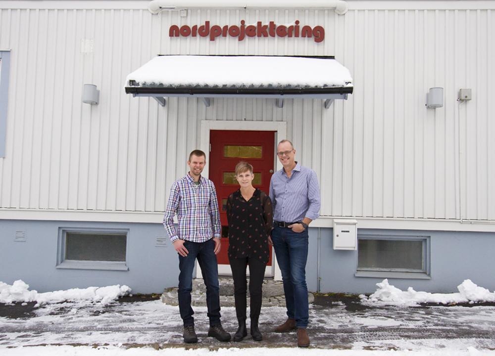 Mikael Fredriksson, Ulrika Keisu och Robert Grenemark